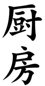 Japanese Word for Kitchen