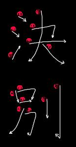 Stroke Order for 決別