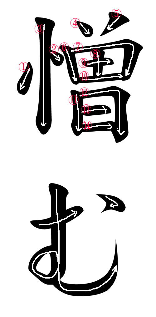 Japanese Word For The Word Hate Japanese Word Characters And Images