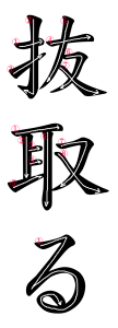Japanese Word for Extract