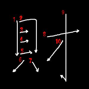 """Jouyou Kanji """"財"""" Stroke Order"""