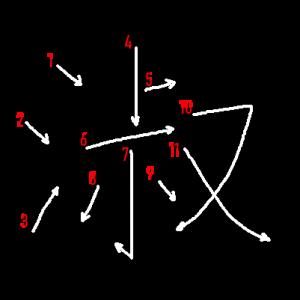 """Jouyou Kanji """"淑"""" Stroke Order"""