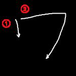 """Katakana """"ワ-wa"""" Stroke Order"""