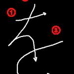 """Hiragana """"を-wo"""" Stroke Order"""