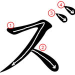 """Katakana """"ズ-zu"""" Stroke Order"""
