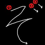 """Hiragana """"ぞ-zo"""" Stroke Order"""