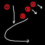 """Hiragana """"ど-do"""" Stroke Order"""