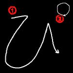 """Hiragana """"ぴ-pi"""" Stroke Order"""
