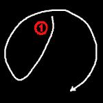 """Hiragana """"の-no"""" Stroke Order"""