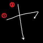 """Katakana """"ヤ-ya"""" Stroke Order"""