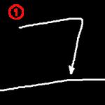 "Katakana ""ユ-yu"" Stroke Order"