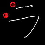 "Katakana ""ラ-ra"" Stroke Order"