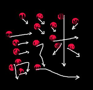 Kanji Stroke Order for 謎