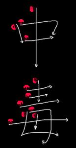 Kanji Stroke order for 中毒