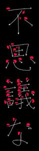 Japanese Word for Strange