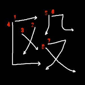 """Jouyou Kanji """"殴"""" Stroke Order"""