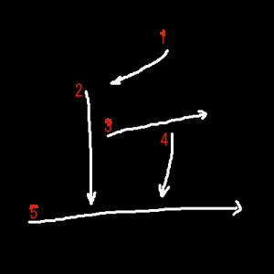 """Jouyou Kanji """"丘"""" Stroke Order"""