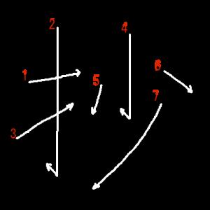"""Jouyou Kanji """"抄"""" Stroke Order"""