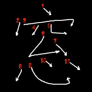 """Jouyou Kanji """"窓"""" Stroke Order"""