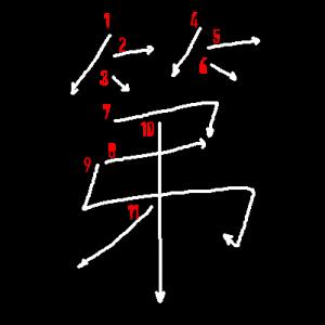 """Jouyou Kanji """"第"""" Stroke Order"""