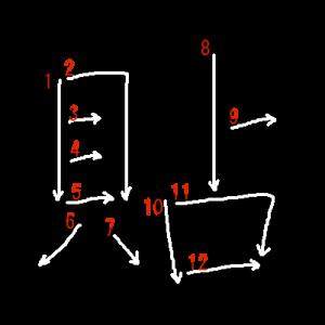 """Jouyou Kanji """"貼"""" Stroke Order"""